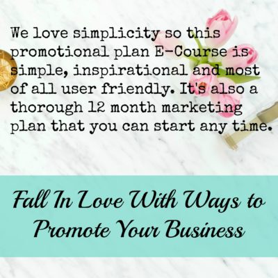 Easy Ways to Promote Your Business