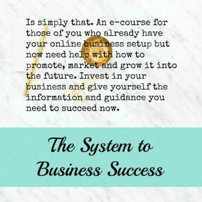 System to Business Success