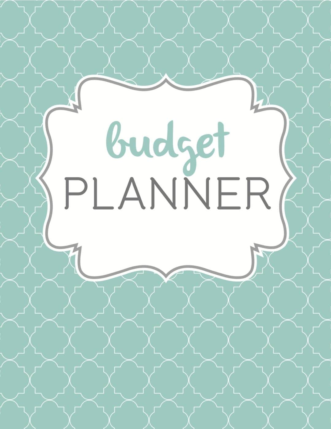Budget Planner Cover Money Savvy Mums