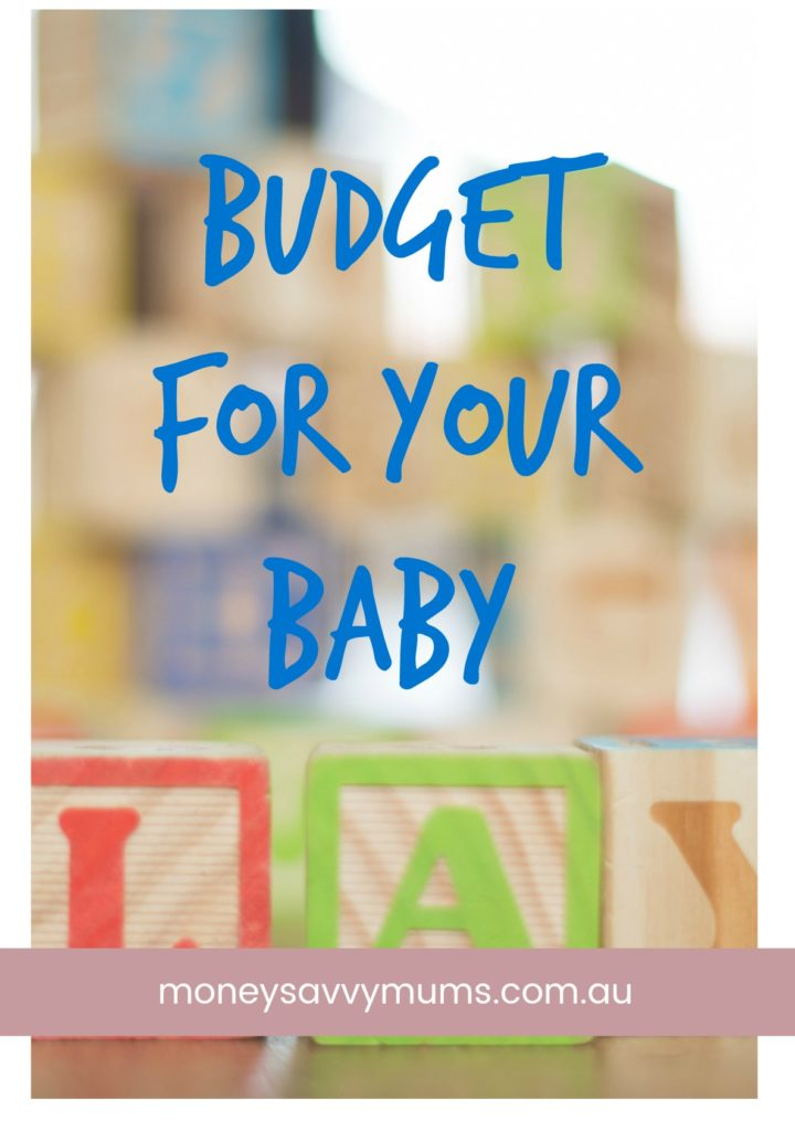 budget for your baby