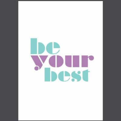 Be your best 2