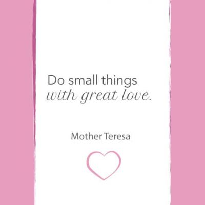 Do small things 1